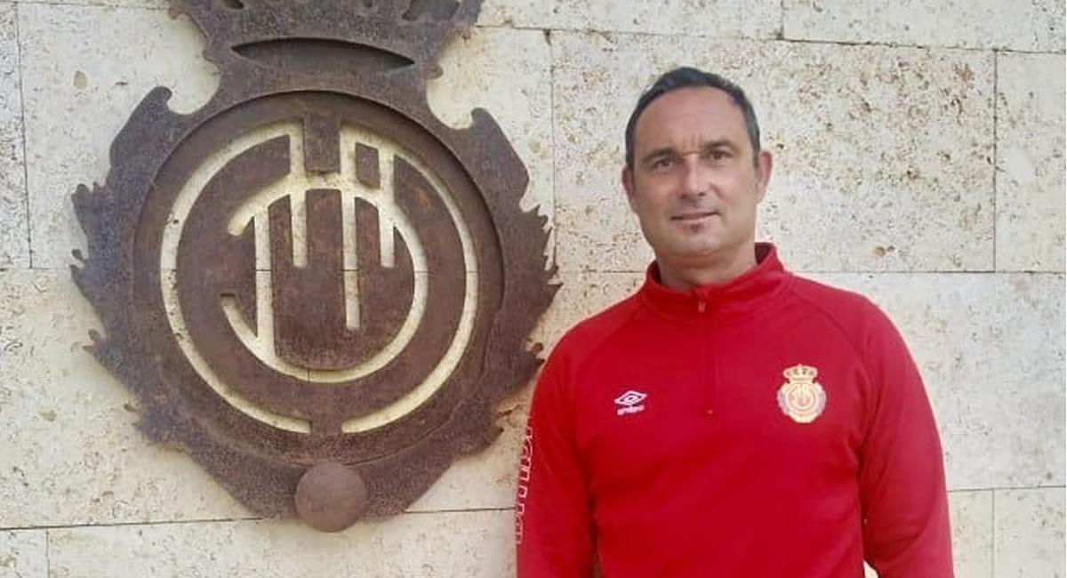 El RCD Mallorca y Javier Recio han alcanzado un acuerdo para la desvinculación del club. Foto: Twitter @GMallorquinista