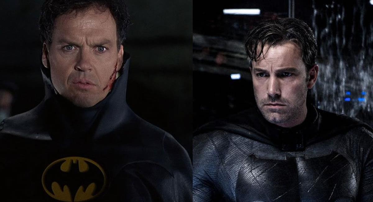 Ben Affleck y Michael Keaton estarán interpretando a Batman. Foto: Twitter @PabloPlanovsky