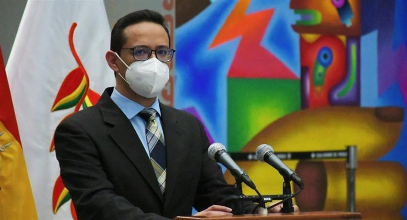 El viceministro de Justicia, Huberth Vargas. Foto: ABI
