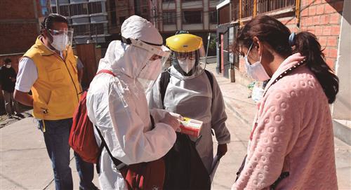 COVID-19: Inicia megarastrillaje para detectar casos en La Paz