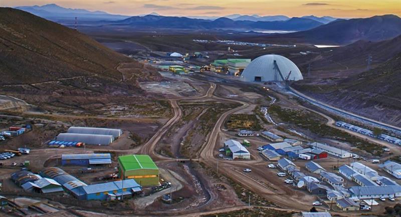 Minera San Cristóbal S.A. suspendió operaciones. Foto: ABI