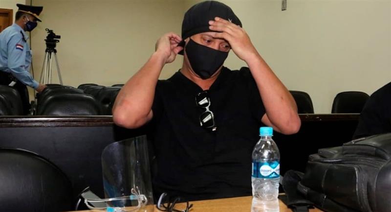 El futbolista fue puesto en libertad bajo garantías. Foto: EFE
