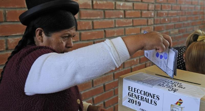 El TSE aprobó el protocolo de bioseguridad para las próximas elecciones. Foto: ABI