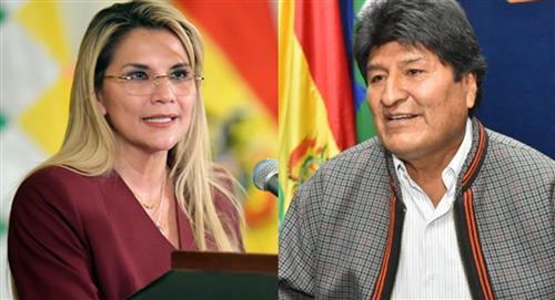 "La presidenta boliviana Jeanine Áñez llama a Evo Morales ""abusivo depredador de niñas"""