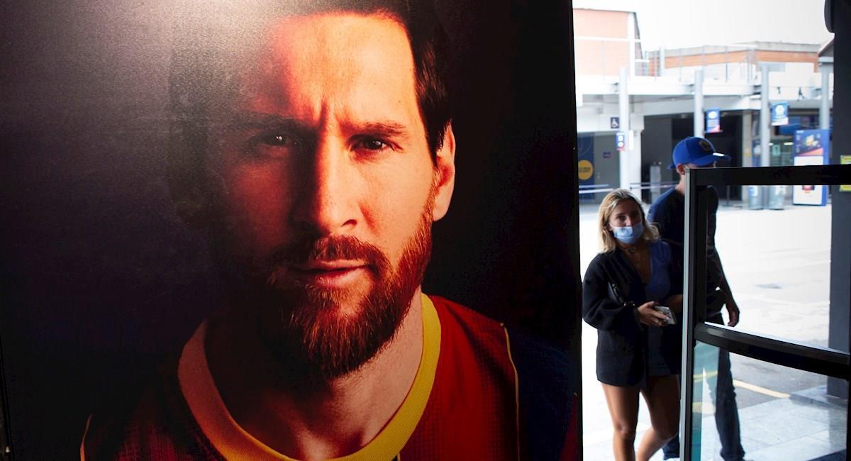 Son varias las consecuencias que se conjeturan de concretarse la salida de Messi del Barcelona. Foto: EFE
