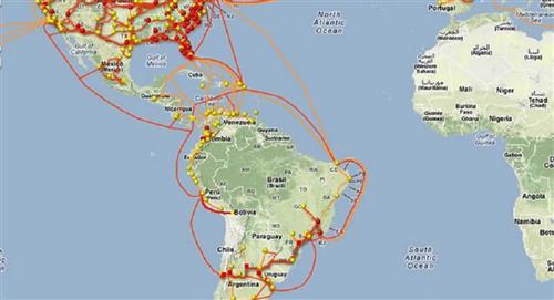 Bolivia inaugurará el jueves su propia fibra óptica con conexión directa al Pacífico