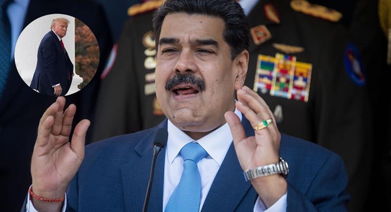 Declaraciones de Nicolás Maduro hacia Donald Trump. Foto: EFE