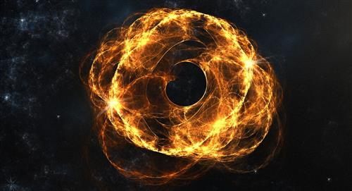 Gigantesca colisión de dos agujeros negros que la ciencia no logra explicar