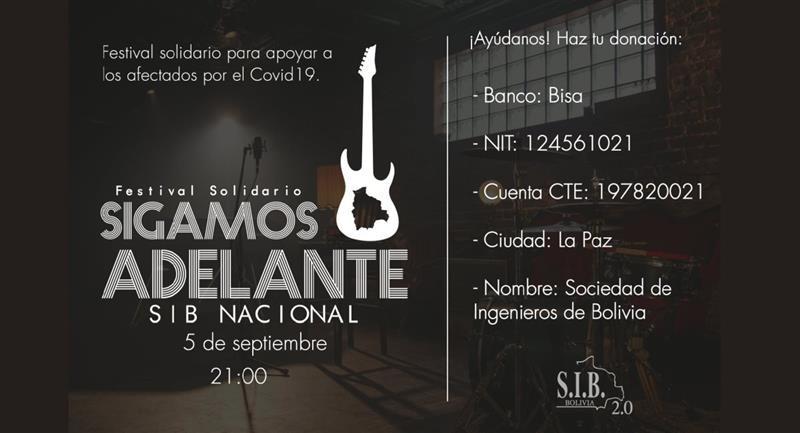 La SIB organiza un evento solidario. Foto: Facebook @sib.bolivia.904