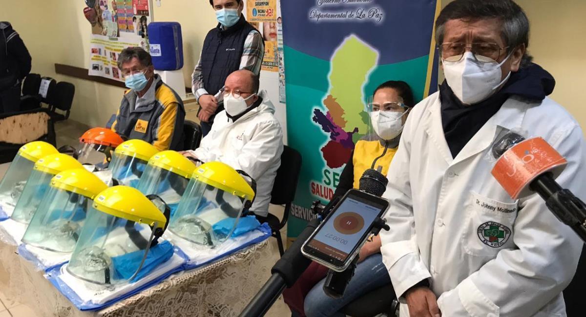 En La Paz activaron una aplicación para la atención virtual de paciente COVID-19. Foto: ABI