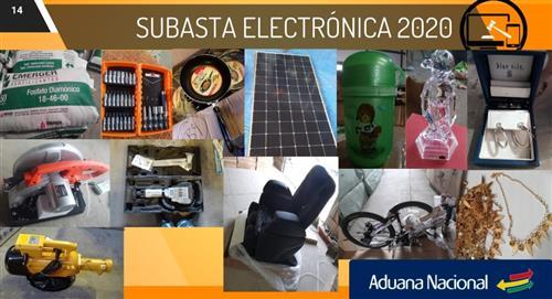 Estos son los pasos para participara de la Subasta Electrónica de la Aduna Nacional