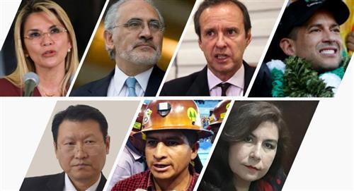Debate presidencial: siete candidatos confirmaron y solo falta Luis Arce