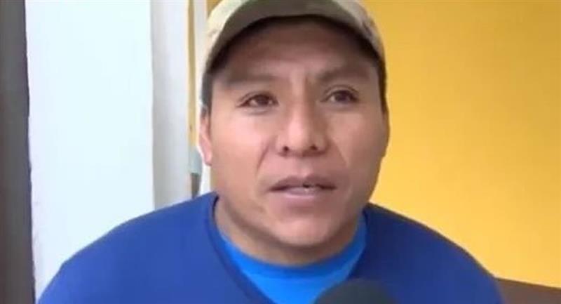 La militancia del MAS en Cochabamba eligió a Loza como candidato a primer senador por esa región central. Foto: Twitter @7boliviaNot24
