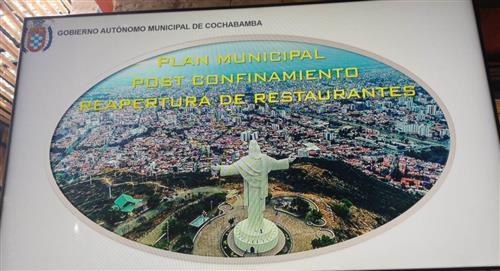 Restaurantes de Cochabamba reabren a un tercio de su capacidad desde el lunes