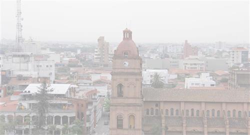 Áñez anuncia declaración de emergencia por incendios en el oriente boliviano