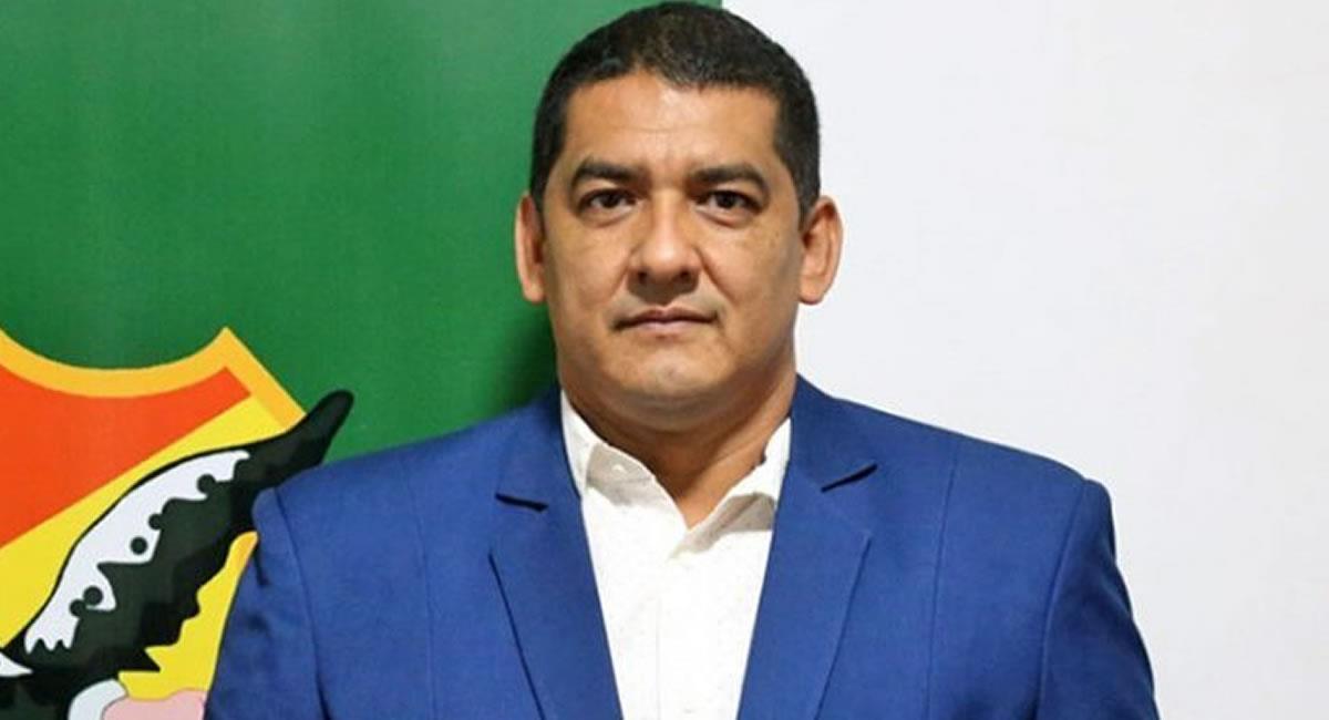 Marcos Rodríguez es presidente de la FBF. Foto: Federación Boliviana de Fútbol