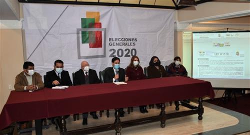 Órgano Electoral sortea jurados electorales para las elecciones del 18 de octubre