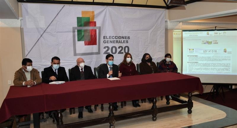 El TSE sortea a los jurados electorales para las elecciones de octubre