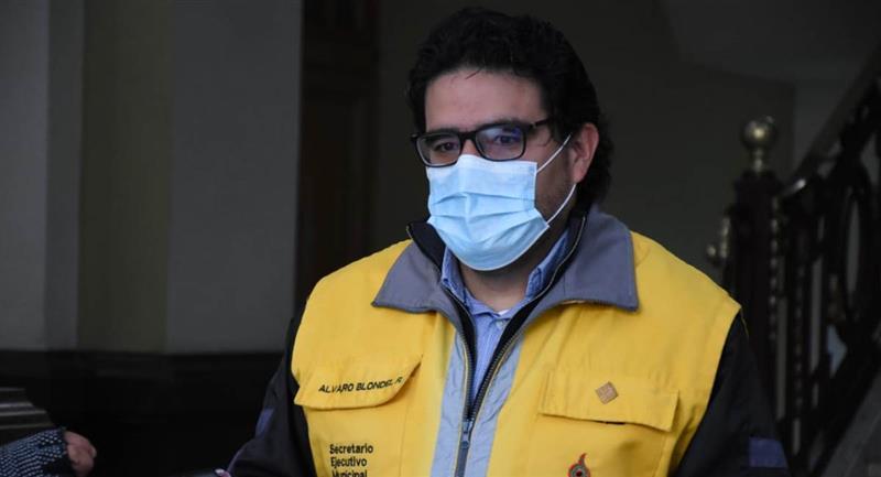 El Secretario Ejecutivo Municipal de La Paz. Foto: ABI