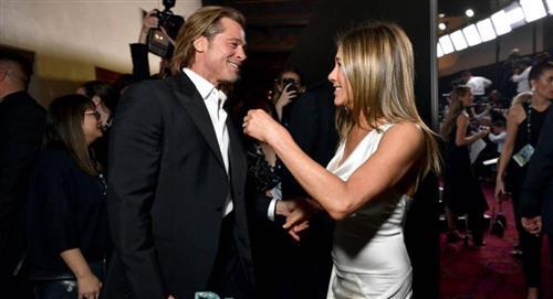 Jennifer Aniston y Brad Pitt se reencuentran y las redes sociales explotan