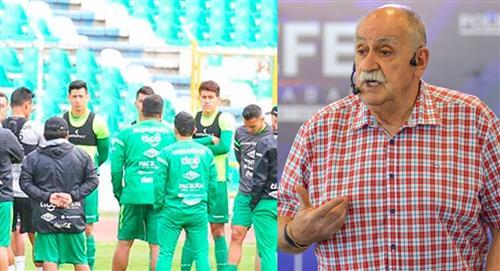 """El 'Bigotón' arenga a los jugadores de Bolivia a dar todo """"sin excusas"""""""