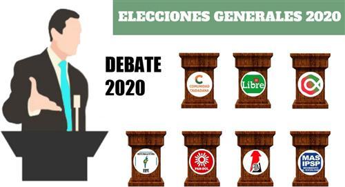 Todo lo que necesitas conocer sobre el Debate Presidencial 2020