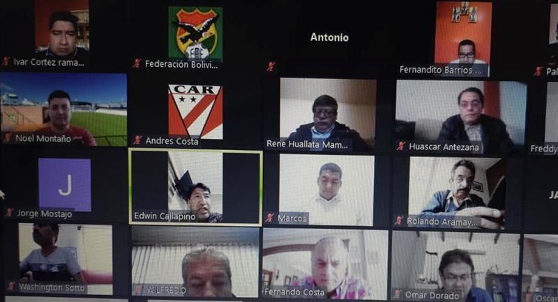 Los miembros del Comité Ejecutivo afrontan un proceso penal. Foto: Federación Boliviana de Fútbol