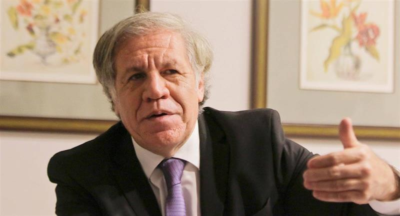 El secretario general de la OEA, Luis Almagro. Foto: ABI