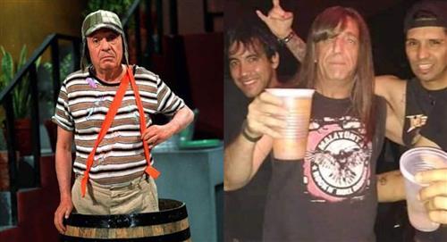 'El Chavo del 8': Memes del metalero argentino que se parece a Roberto Gómez Bolaños