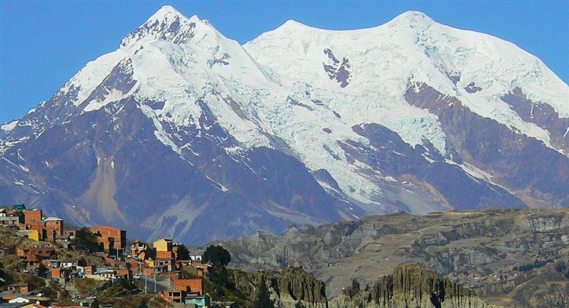 Ciudad de La Paz. Foto: Pixabay