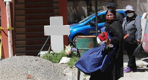 Bolivia es el tercer país en con mayor cantidad de muertes per cápita por COVID-19