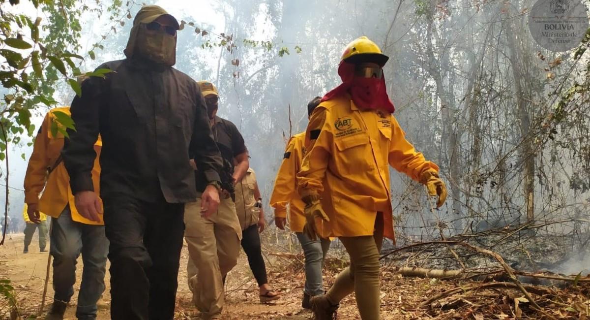 Incendios forestales en el país. Foto: ABI