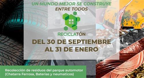 """Inicia la campaña """"Reciclatón"""" para recolectar residuos del parque automotor"""