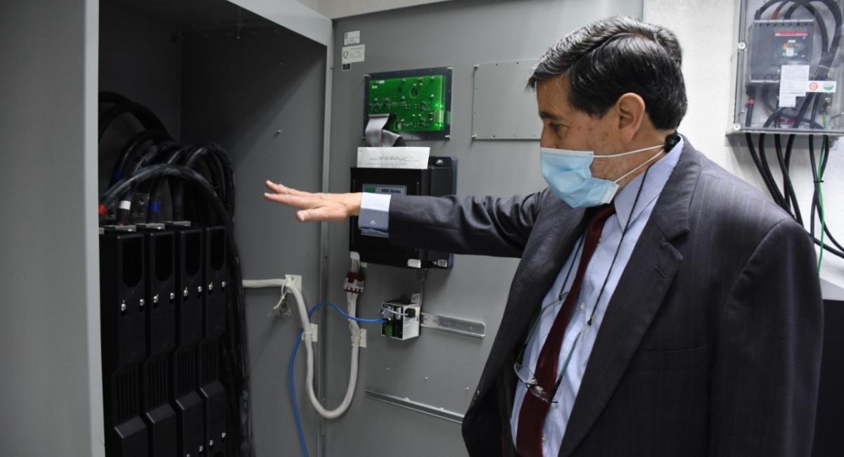 Instalaciones del Centro Tecnológico del TSE. Foto: ABI