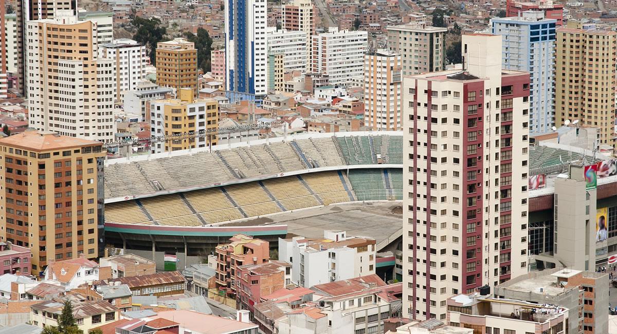 Estadio Hernando Siles de La Paz. Foto: Shutterstock