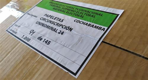 Elecciones: estas son las medidas de bioseguridad para el manejo de papeletas electorales