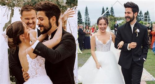 Evaluna y Camilo se despiden por primera vez tras su matrimonio