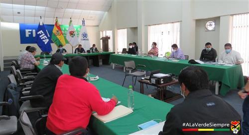 El torneo Apertura del fútbol boliviano todavía no tiene fecha para su reinicio