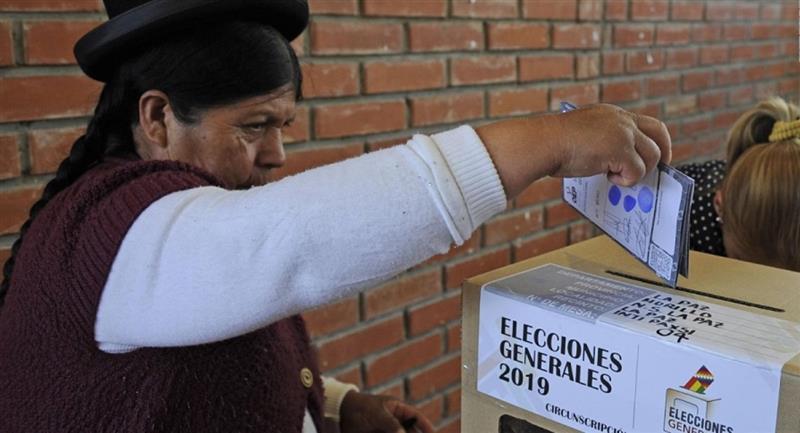 Auto de buen gobierno podría regir hasta 48 horas después de las elecciones. Foto: ABI