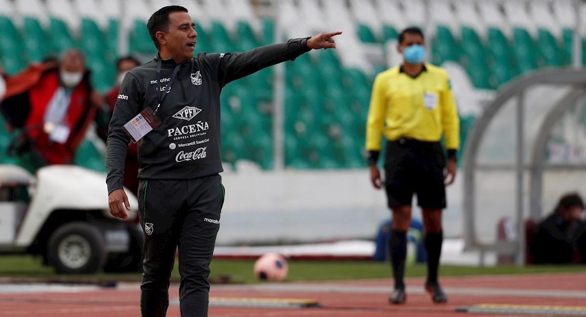 El DT de la selección nacional, César Farías. Foto: EFE