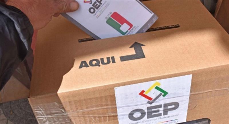 Cochabamba emitió el auto de buen gobierno para las elecciones. Foto: ABI