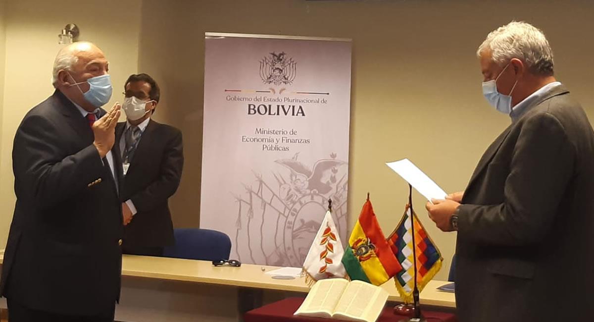 El nuevo presidente del Banco Central de Bolivia garantizó la estabilidad de la cotización del boliviano frente al dólar. Foto: ABI