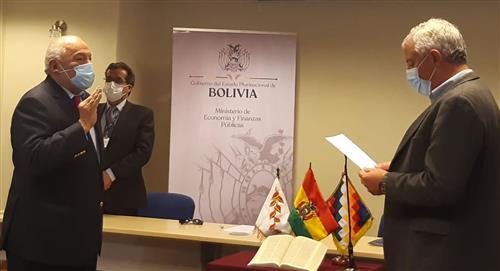 Agustín Saavedra asume la presidencia del Banco Central de Bolivia