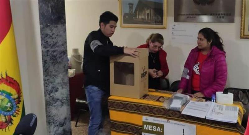 Bolivia ultima el voto exterior aunque en Panamá y norte de Chile no habrá por la COVID-19. Foto: ABI