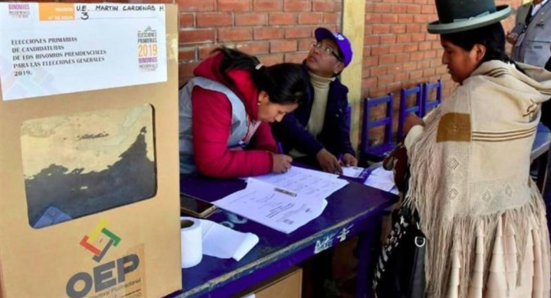 Las Elecciones Generales 2020, están programadas para el 18 de octubre . Foto: ABI