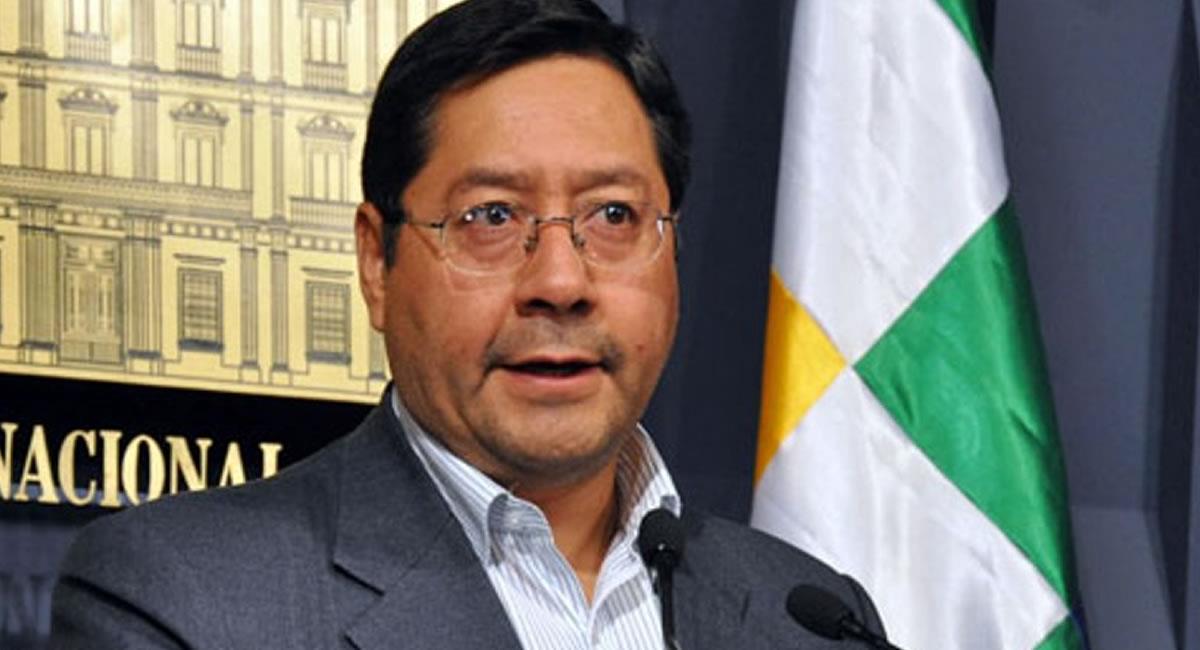 Candidato a la Presidencia de Bolivia, Luis Arce. Foto: ABI