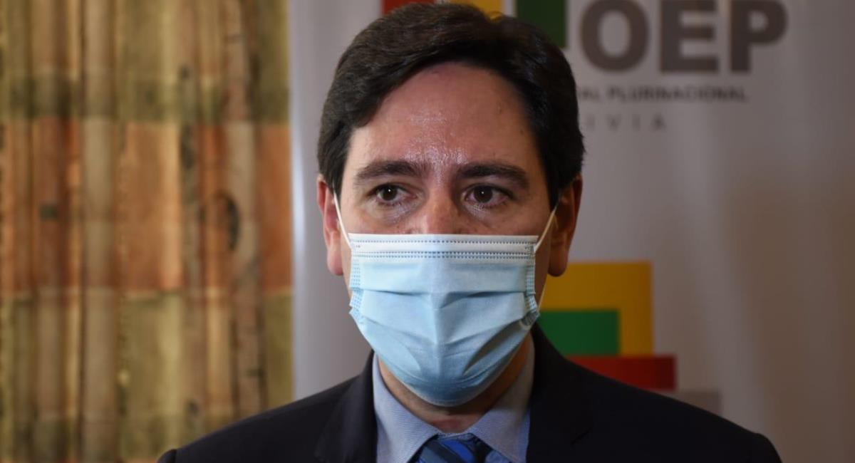 El presidente del TSE. Salvador Romero. Foto: ABI