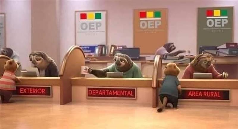 Los memes no se hicieron esperar. Foto: Facebook Noticias de Bolivia