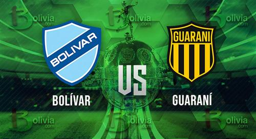 Bolívar se alista para recibir a Guaraní y asegurar un cupo a la Sudamericana