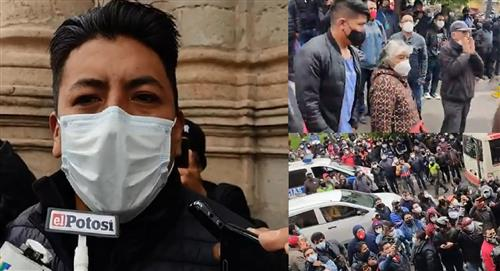 Convocatoria de Pumari para que lo insulten genera tensión y amagues de enfrentamiento en Potosí